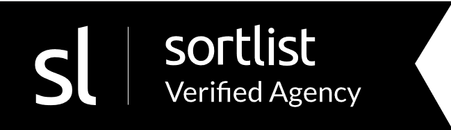 sortlist certified agency badge